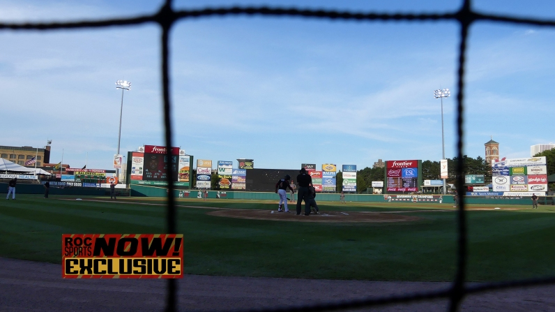 View of Frontier Field - Red Wings vs Lehigh Valley IronPigs, September 1, 2018 - photo by Joe Bradt