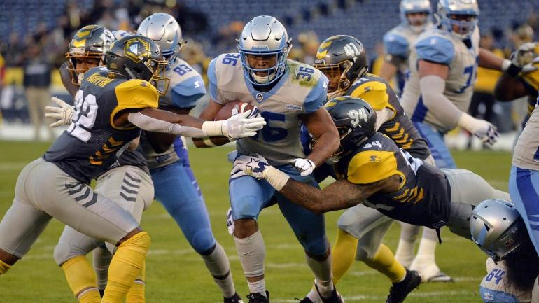 AAF: Salt Lake Stallions at San Diego Fleet